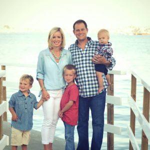 Katherine Polachek with Family