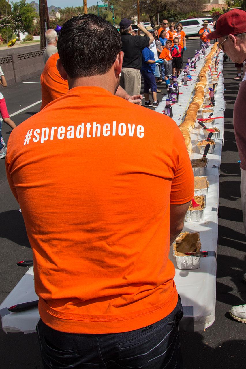 Spread the Love PB&J Record 31 March 2018